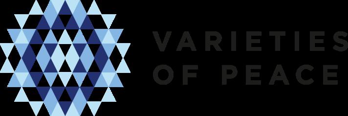 Varieties of peace logo vänsterställd